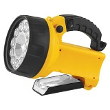 Фонарь Ultraflash UF 3712 LED аккум 220В/12В желт 19 LED 4В 2Ач Camelion 8310