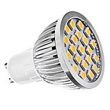 Лампа GU10 LED 21SMD5050 220В 3000K 4Вт 400Лм с линзами 60град. Gals