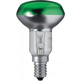Лампа зеркальная Refl Col 40W E14 230V NR50 GREEN Philips