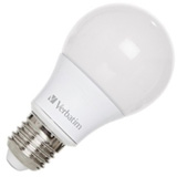Лампа Verbatim LED Classic A E27 6.0W 2700K WW 480LM 220 Degree Frosted